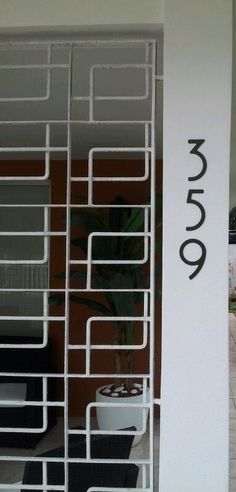 1000 images about self adhesive address numbers on for Bungalow house numbers