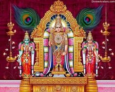Lord Murugan, a popular deity among Tamil people. Arupadai Veedu, Kukke Subramanya & Batu Caves near Kuala Lumpur(Malaysia) are the famous temples of Lord Muruga