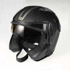 """CARBON FIBER GEAR > Carbon Fiber """"Ferrari F430 Scuderia"""" Helmet"""