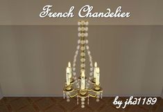ModTheSims - French Chandelier