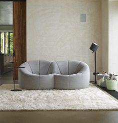 *Pumpkin sofa by Pierre Paulin- Ligne Roset IsaRtfulfairytale Upholstery Repair, Furniture Upholstery, Furniture Design, Garden Furniture, Upholstery Tacks, Upholstery Cleaner, Furniture Stores, Sofas, Couches