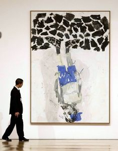 """Baselitz also wasn't too thrilled about the art market in Germany. """"There's a..."""