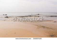 Naitorn beach on twilight sky day, Phuket Thailand - stock photo