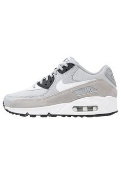 7ea2b4397ef74d AIR MAX 90 - Sneakers - wolf grey black white - Zalando.se