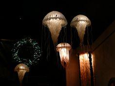 Jellyfish in the Farallon restaurant