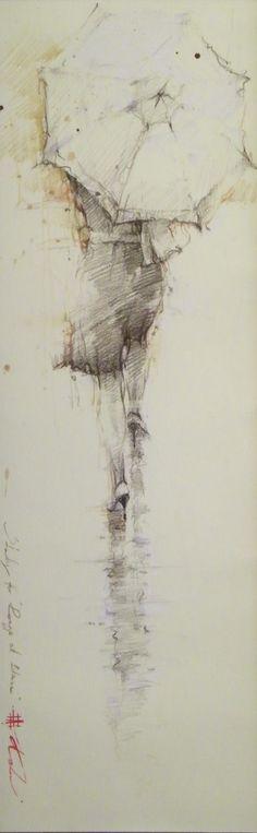 Andre Kohn-Study for Rouge et Blanc heritageonlinegallery.com