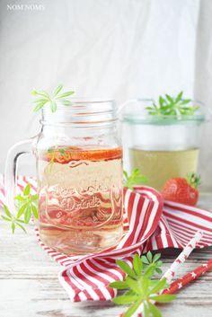 erfrischend einfach: waldmeister sirup & limonade | (sweet) woodruff syrup & lemonade (vegan) ❤