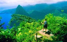Climbing in St Lucia: the best view in the Caribbean
