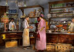 Store - In a general store 1917 by Mike  Savad