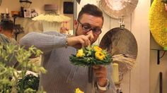 Мастер-класс Славы Роска, свадебный букет на порт-букете - YouTube
