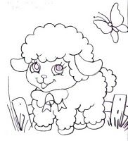 Farm and farm related embroidery patterns Easter Colouring, Colouring Pages, Coloring For Kids, Coloring Sheets, Coloring Books, Tole Painting, Fabric Painting, Painting & Drawing, Baby Embroidery
