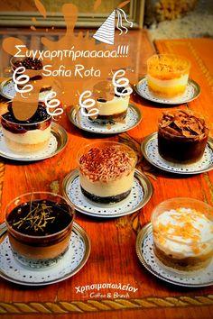 🥳Η Sofia Rota είναι η μεγάλη Νικήτρια αυτής της εβδομάδας 🥳Κερδίζει Καφεδάκι🥤και Γλυκάκι🧁για εκείνην και ένα φίλο της, κατευθείαν στην Πόρτα του Σπιτιού της 🆕Μείνετε συντονισμένοι, γιατί έρχεται Νέος, Φρέσκος Διαγωνισμός Panna Cotta, Cheesecake, Brunch, Sweets, Ethnic Recipes, Desserts, Food, Cheesecake Cake, Sweet Pastries
