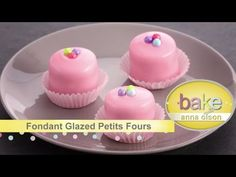Welcome to Bake with Anna Olson! In this episode Anna teaches you how to bake these amazing French petits fours recipes: - Citrus Madeleines - - Mini Ch. Anna Olson, Cupcake Recipes, Cheesecake Recipes, Baking Recipes, Dessert Recipes, Mini Desserts, Just Desserts, Petite Fours Recipe, Best Fondant Recipe