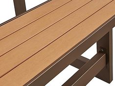 """Convertible Bench - 56"""" H-5947 - Uline Parks Furniture, Outdoor Furniture, Shipping Supplies, Poly Bags, Picnic Table, Steel Frame, Plank, Convertible, Bench"""