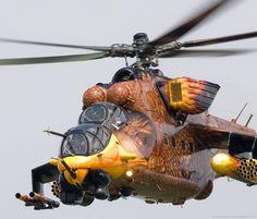 Crazy cool Mil Mi-24