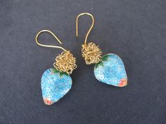 These earrings are really a eye catcher.