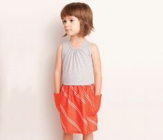 Anthem of the Ants Scavenger Hunt Dress (red coral) : Dresses + Skirts + Rompers: Girl Clothes Toddler Haircuts, Little Girl Haircuts, 2015 Hairstyles, Trendy Hairstyles, Cool Kids Clothes, Romper With Skirt, Kids Boutique, Little Fashionista, Red Coral