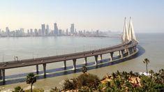 Video: Bandra Worli Sea Link -bridge in Mumbai, India Bandra Worli Sea Link, In Mumbai, Bridge, India, Travel, Viajes, Bridge Pattern, Destinations, Traveling