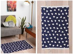 6th Street Design School | Kirsten Krason Interiors : What You Should Be Buying Right Now at Urban Outfitters - blue rug