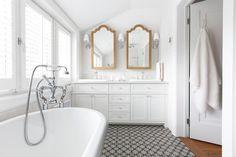 28 Best Bathroom Gold Mirror Images