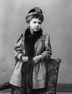 Victoria Eugenia, aka Ena of Battenberg, future Queen of Spain