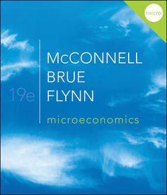 McConnell, Brue, and Flynn's Economics: Principles, Problems, and Policies is the #1 Principles of Economics textbook in the world. It continues to be innovative while teaching students in a clear, unbiased way. The 19th Edition builds upon the tradition of leadership by sticking to 3 main goals: Help the beginning student master the principles essential for understanding the economizing problem, specific economic issues, and the policy alternatives; help the student understand and apply the…