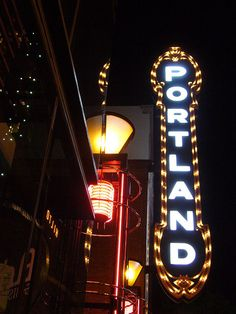 Both sets of grandparents lived in Portland, so we visited once a month & spent every holiday there.  Lots of time in the summer too.  Portland holds many of my happy childhood memories.