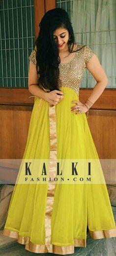 #DivaOfTheDay @margisakariya looking like a total princess in our @kalkifashion designer anarkali .