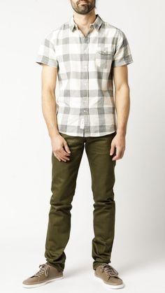 Native Youth - Herringbone S/S Shirt