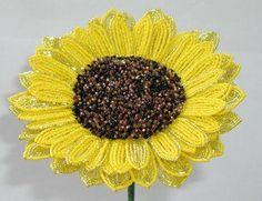 french beaded flowers tutorial - Hledat Googlem #cbloggers #beading #beaddazzled
