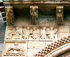 San PEDRO de TEJADA (Burgos) Detalle de la PORTADA European History, Art History, Roman Church, Carolingian, Romanesque, Cristiano, 15th Century, Roman Empire, Ancient Art