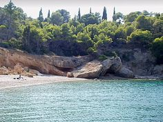 Spetses Island, greece, Isolated beach