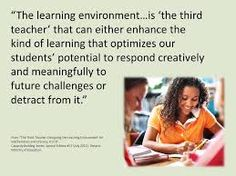 Image result for environment as third teacher quote