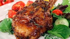 Pork Chops with Marmalade Mustard Pan Sauce | Steven and Chris | Follow Chef Michael's classic two step method to create perfectly cooked, flavour packed pork chops.