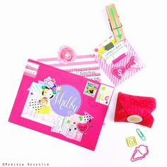 MERISSA CHERIE: Snail Mail : Gift Wrapping and Mail Art Using Washi Tape and Stickers