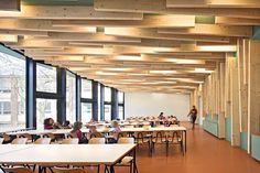 Cafeteria in Berlin Primary School Tempelhofer Feld ludloff + ludloff architekten
