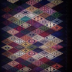 #needlework#菱刺し…菱刺し。これもやりたいなー(*´ω`*)