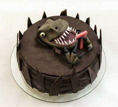 Dinosaurus cake by easy-recepti.blogspot.com