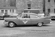 1959 Plymouth Savoy https://www.facebook.com/OhioStateHighwayPatrol