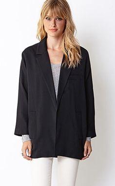 perfect option tomboy Forever 21 standout blazer | Dress Like a Boss Without Spending Like One | POPSUGAR Fashion Photo 50