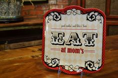 Eat at Mom's plate