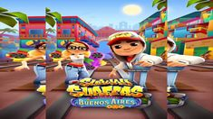 Games Kid's   Subway Surfers New Update - World Tour Buenos Aires