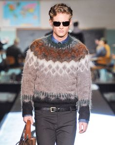 Kazak.  GQ Editors Picks from Milan Fall 2012- Men's Fashion Week: Fashion Shows: GQ