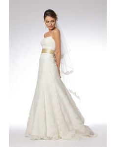 Shopping for Lace Sweetheart A-line Court Train Draping Wedding Dress in Our Wedding Dresses Shop