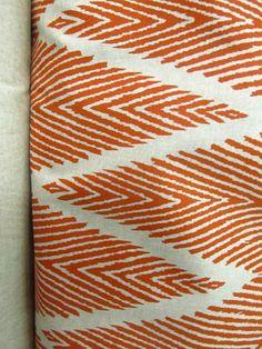 BALI MANDARIN Ikat geometric on cotton by reneesfabrics on Etsy, $24.50