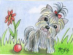 Petcature Pet PortraitCustom original ACEO Your by giftsofcreation, $10.00