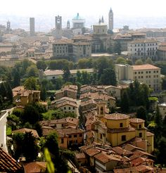 Bergamo, Italy...we lived here while mom was getting her masters, what a beautiful place.
