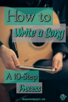 Learn how to write a song in ten steps. It's a concrete and hands-on method, so it's a great way for first-time songwriters to get a handle on songwriting. After all, art shouldn't always be guesswork!