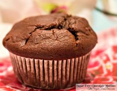 Delicious and Easy Sugar Free Cocoa Muffins Recipe