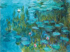 Water Lilies, Claude Monet, c. 1915